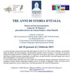 2013-01-08 Borgomanero - Mostra Tre anni di Storia d'talia