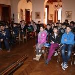 2013-01-31 Borgomanero Gli studenti ascoltano la partigiana Nini