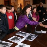 2013-01-31 Borgomanero - La partigiana Nini parla agli studenti