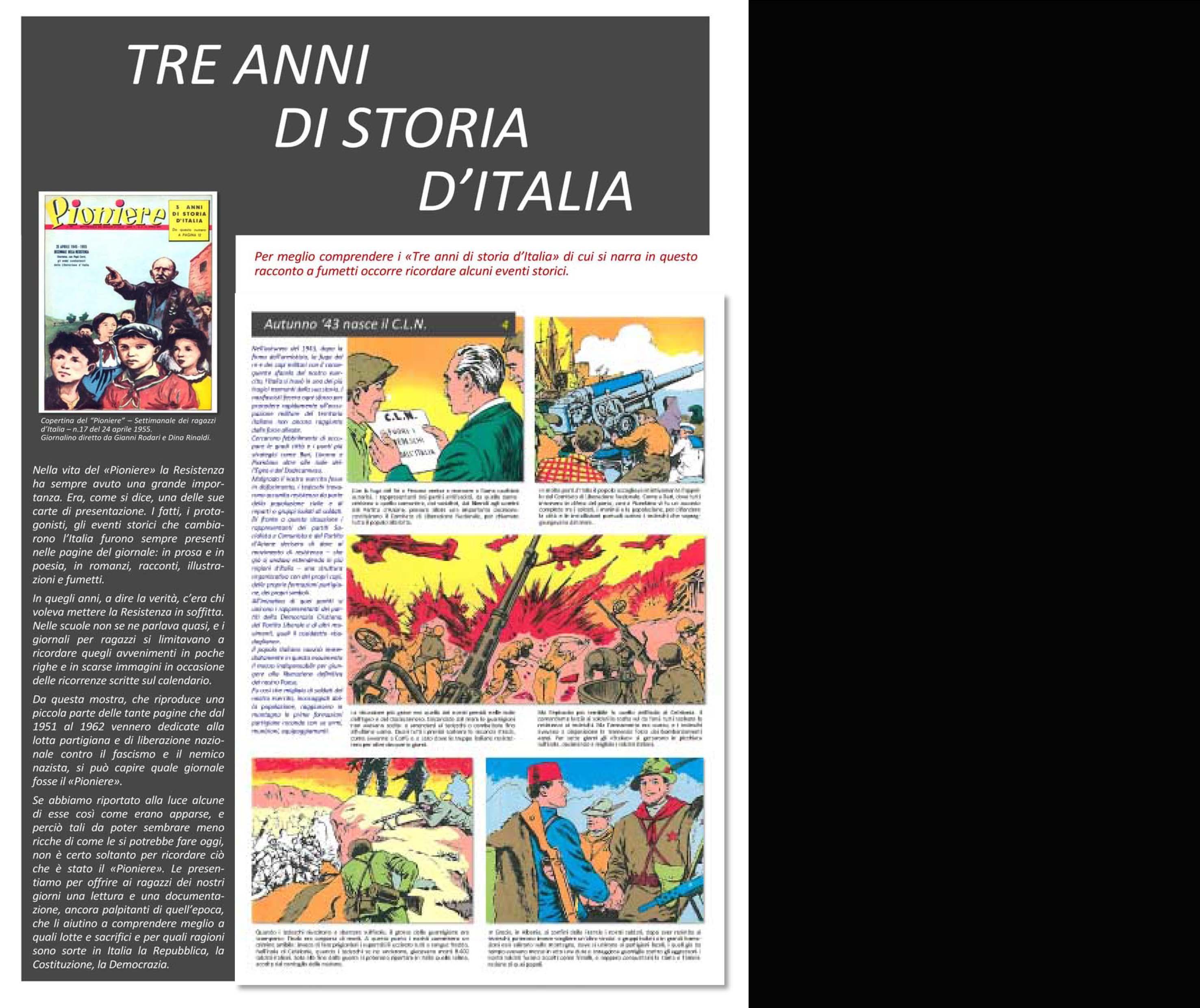 Tre anni di storia dItalia